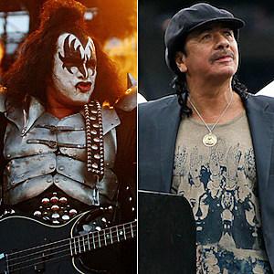 Gene Simmons / Carlos Santana