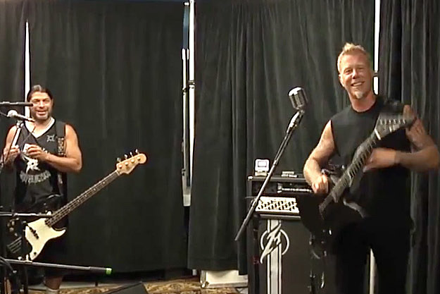 Robert Trujillo-James Hetfield
