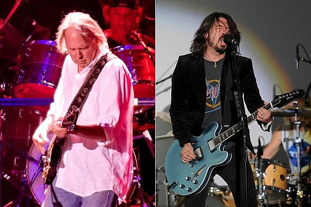 Neil Young Foo Fighters