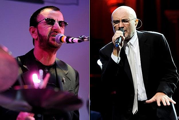 Ringo Starr Phil Collins