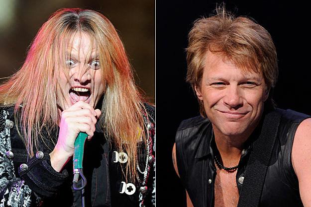 Sebastian Bach and Jon Bon Jovi