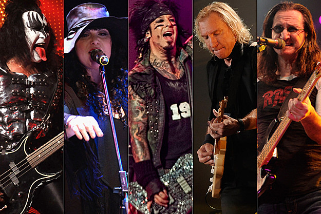 Gene Simmons / Ann Wilson / Nikki Sixx / Joe Walsh / Geddy Lee