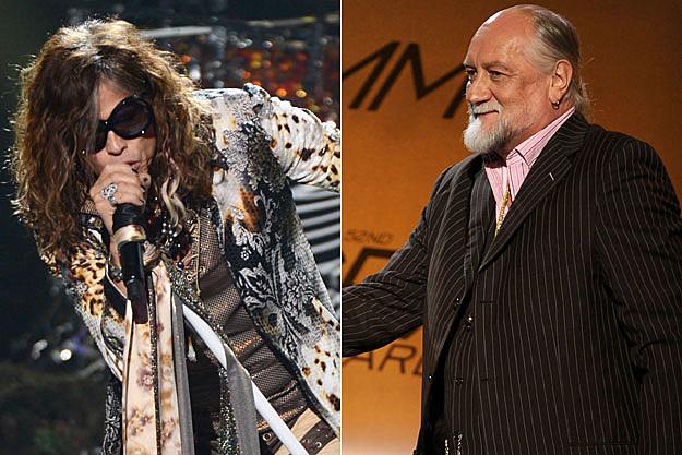Steven Tyler, Mick Fleetwood