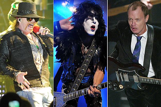 Guns N' Roses-Kiss-ACDC