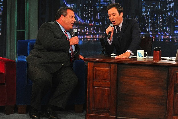 Chris Christie Jimmy Fallon