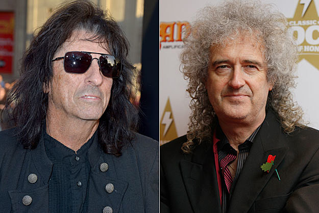 Alice Cooper, Brian May