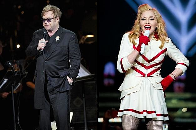 Elton John Madonna