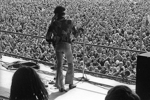 42 years ago jimi hendrix�s final concert