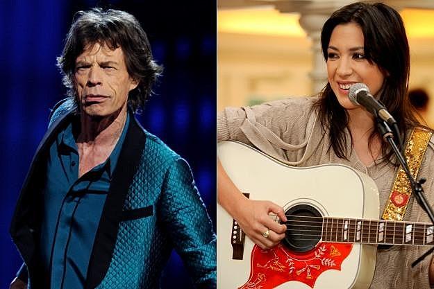 Mick Jagger Michelle Branch