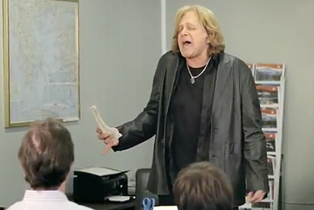 Eddie Money Geico Ad