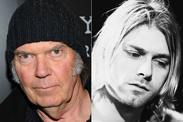 Neil Young, Kurt Cobain