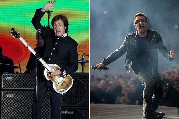 Paul McCartney Bono