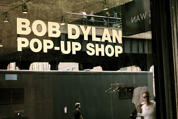 Bob Dylan Pop Up Store