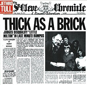 Jethro Tull, 'Thick As a Brick'