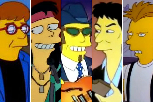Elton John-Aerosmith-Ted Nugent-George Harrison-Sting