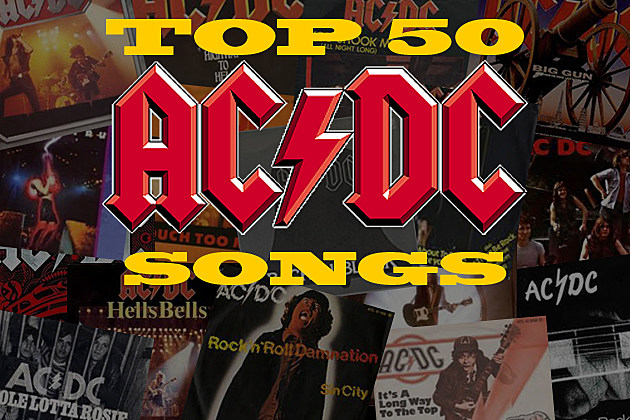 ACDC Top 50 Songs