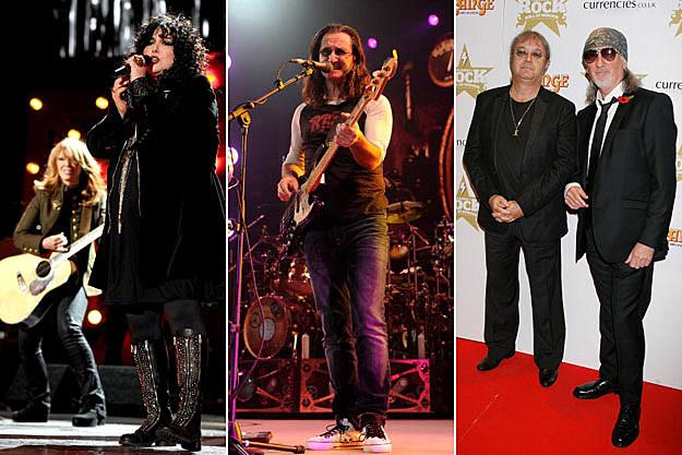 Heart, Rush, and Deep Purple