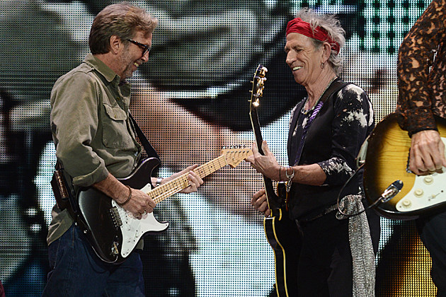 Eric Clapton Keith Richards