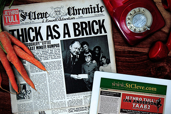 Win Jethro Tull S Thick As A Brick 40th Anniversary