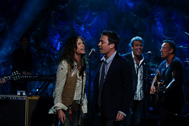 Steven Tyler Jimmy Fallon Bruce Springsteen
