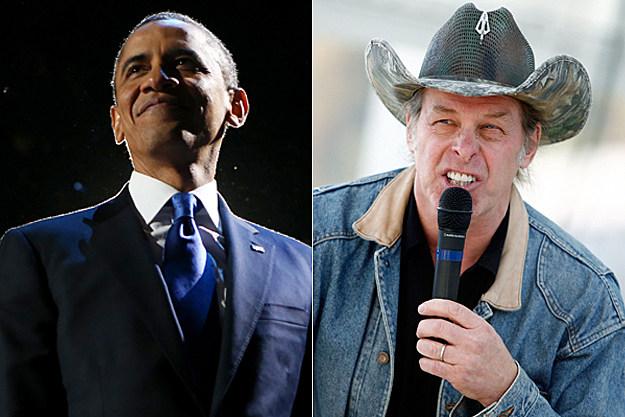 President Obama / Ted Nugent