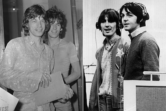 Rolling Stones Beatles