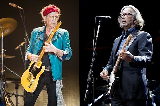 Rolling Stones Eric Clapton