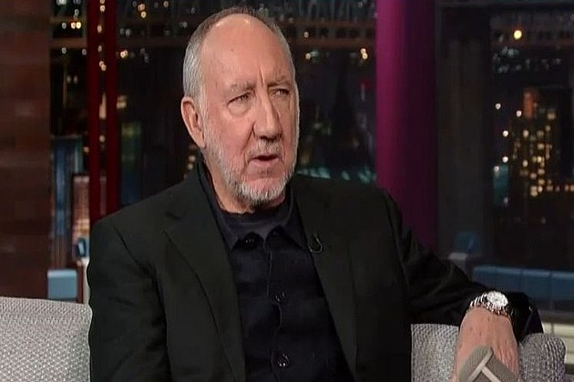 Pete Townshend David Letterman