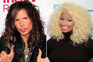 Steven Tyler, Nicki Minaj