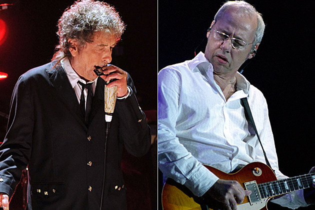 Bob Dylan and Mark Knopfler
