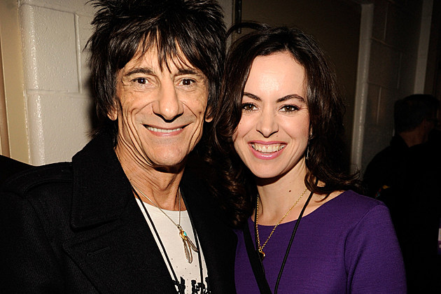 Ron Wood Sally Humphreys