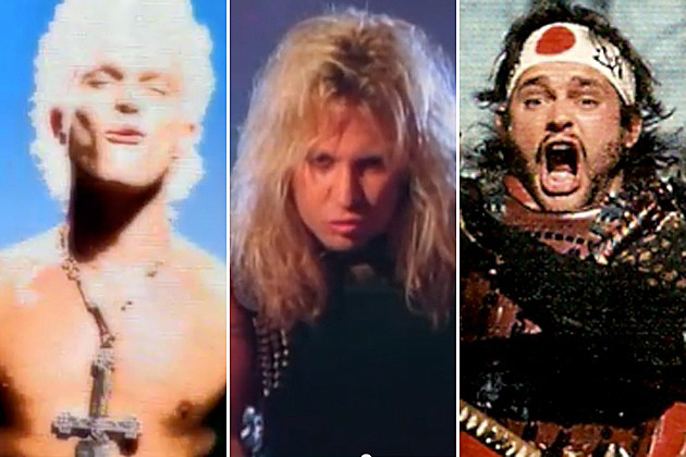 Billy Idol-Motley Crue-Van Halen