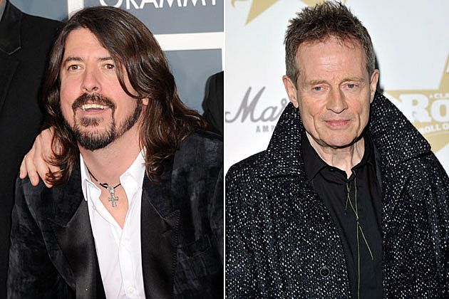 Dave Grohl John Paul Jones