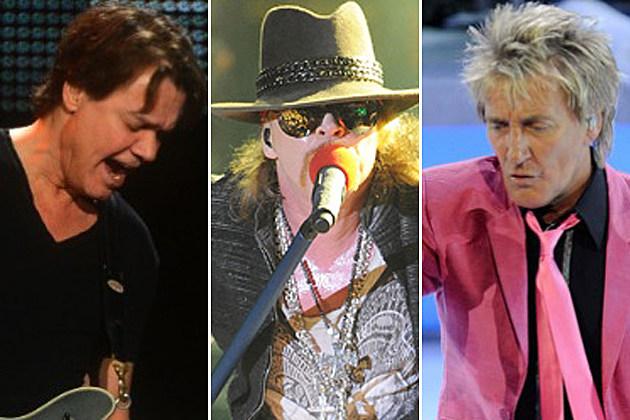 Eddie Van Halen-Axl Rose-Rod Stewart