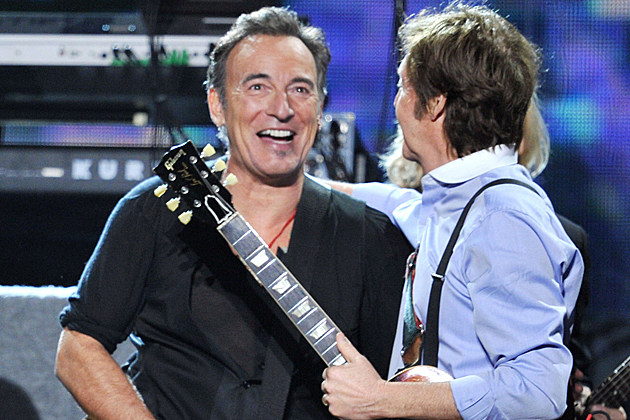Bruce Springsteen Paul McCartney