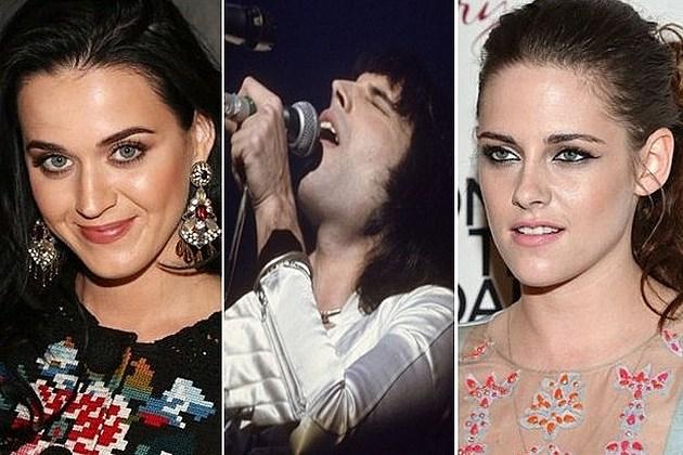 Katy Perry Freddie Mercury Kristen Stewart