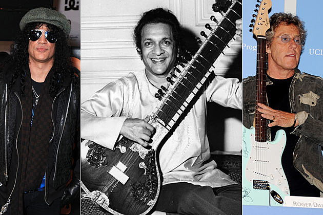 Slash Ravi Shankar the Who