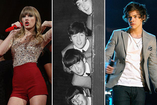 Taylor Swift, the Beatles, Harry Styles