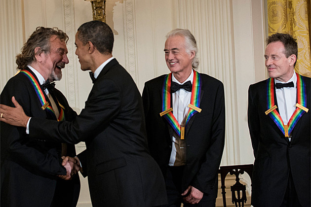 Led Zeppelin President Obama