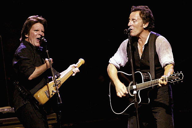 John Fogerty and Bruce Springsteen