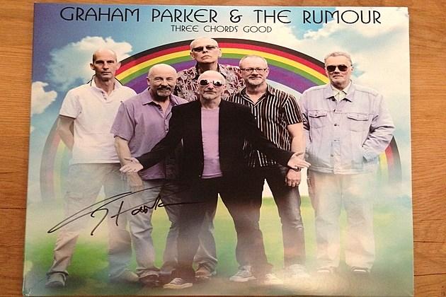 Graham Parker signed poster