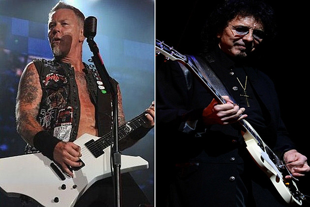 James Hetfield Tony Iommi