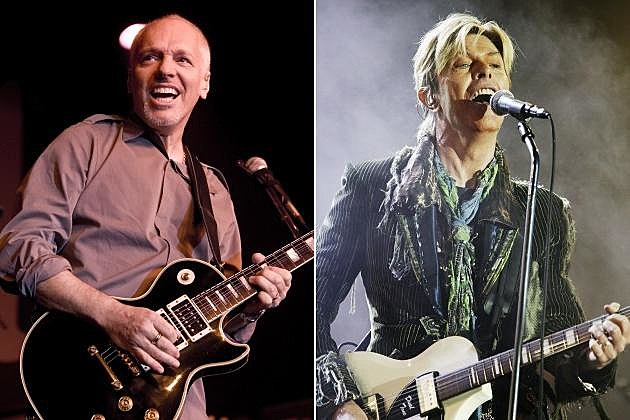 Peter Frampton David Bowie