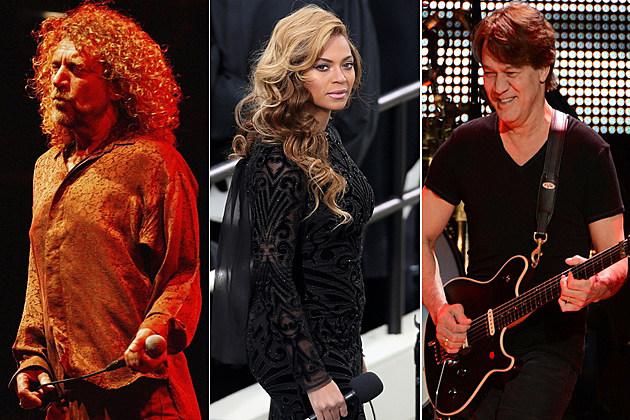 Robert Plant Beyonce Eddie Van Halen