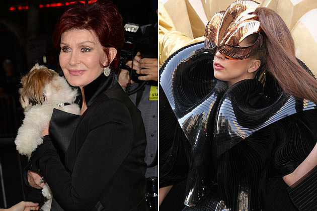 Sharon Osbourne Lady-Gaga