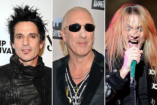 Tommy Lee, Dee Snider, and Sebastian Bach