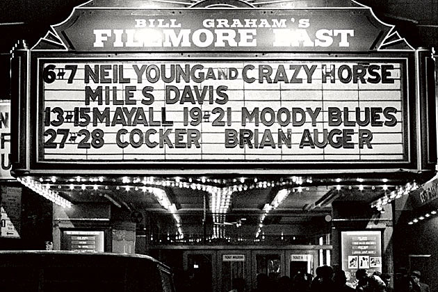 Rockers mark 45th anniversary of the fillmore east s opening night
