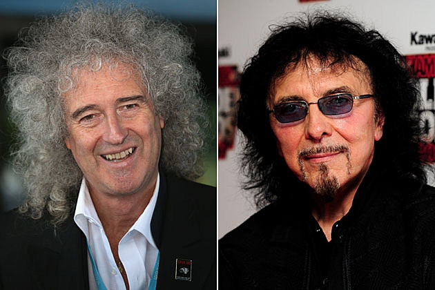 Brian May, Tony Iommi