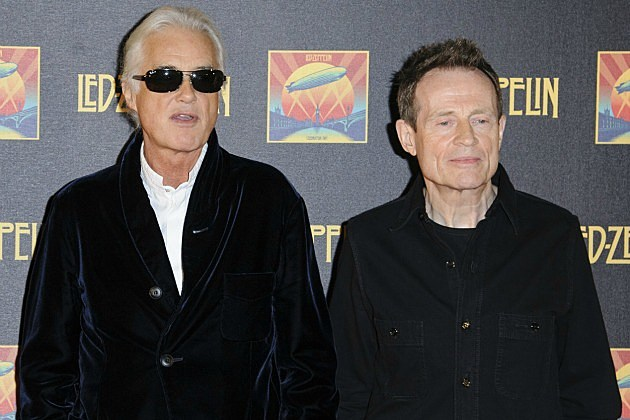 Jimmy Page and John Paul Jones