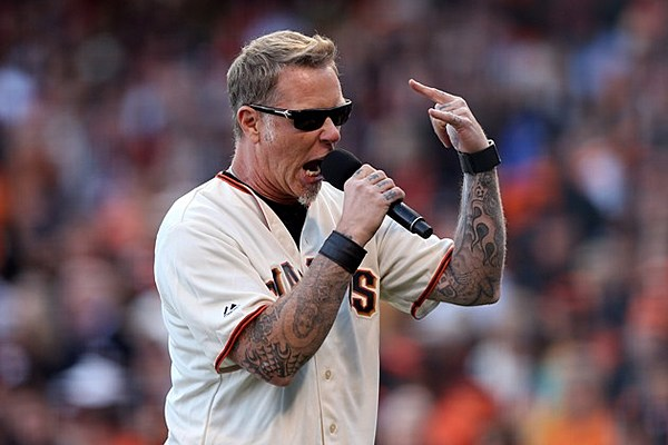 metallica to have themed night at san francisco giants game. Black Bedroom Furniture Sets. Home Design Ideas